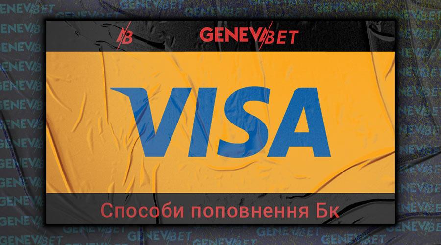 поповнення Бк через Visa